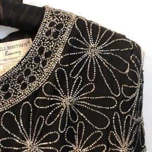 Paper Boutique Evening Vintage Beaded blouse